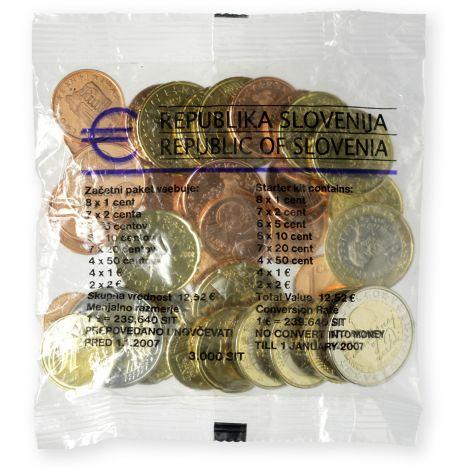 Slovenia 2007 12,52 € Starttipussi