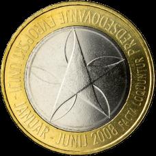 Slovenia 2008 3 € EU-puheenjohtajuus UNC