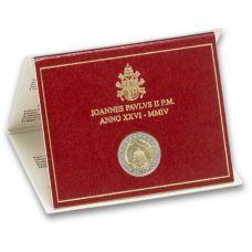 Vatikaani 2004 2 € Vatikaanivaltion perustamisen 75-vuotisjuhla UNC