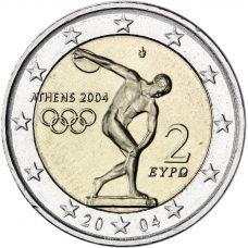 Kreikka 2004 2 € Ateenan Olympialaiset UNC