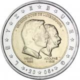 Luxemburg 2005 2 € Henri ja Adolphe UNC