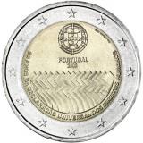 Portugali 2008 2 € Ihmisoikeuksien julistuksen 60. juhlavuosi UNC