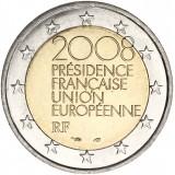 Ranska 2008 2 € EU-puheenjohtajuus UNC