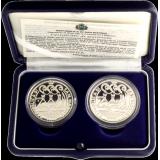 San Marino 2003 10 + 5 € Olimpiadi di Atene HOPEA PROOF