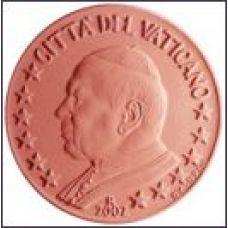 Vatikaani 2002 1 c UNC