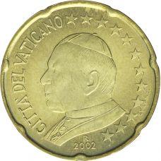 Vatikaani 2002 20 c UNC