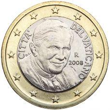 Vatikaani 2008 1 € UNC