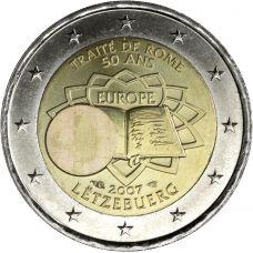 Luxemburg 2007 2 € Rooman sopimus UNC