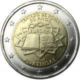 Portugali 2007 2 € Rooman sopimus UNC