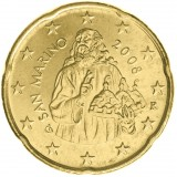 San Marino 2008 20 c UNC