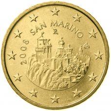 San Marino 2008 50 c UNC
