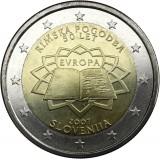 Slovenia 2007 2 € Rooman sopimus UNC