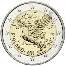 Suomi 2005 2 € YK UNC