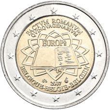 Belgia 2007 2 € Rooman sopimus UNC