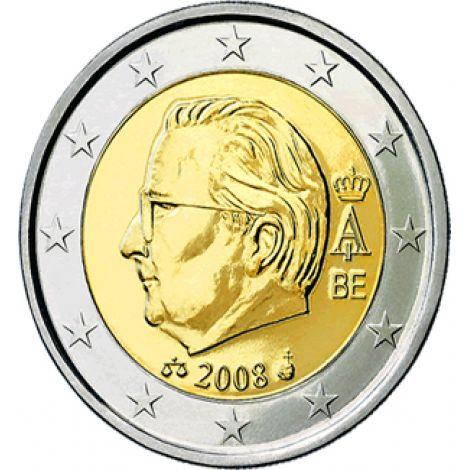 Belgia 2008 2 € RULLA