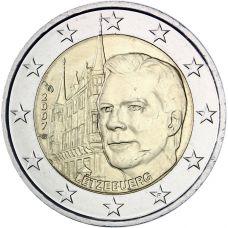 Luxemburg 2007 2 € Suurherttuan palatsi UNC