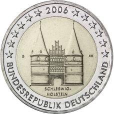 Saksa 2006 2 € Holstentor G UNC
