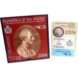 San Marino 2004 2 € Bartolomeo Borghesi UNC