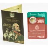 San Marino 2007 2 € Giuseppe Garibaldi UNC