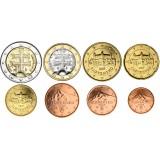 Slovakia 2009 1 c – 2 € Irtokolikot UNC