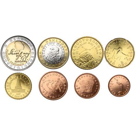 Slovenia 2019 1 c - 2 € Irtokolikot UNC