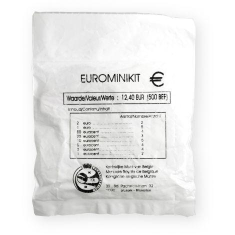 Belgia 2002 12,40 € Starttipussi