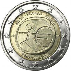 Belgia 2009 2 € EMU UNC