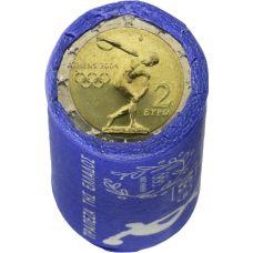 Kreikka 2004 2 € Ateenan Olympialaiset RULLA
