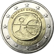 Kreikka 2009 2 € EMU UNC