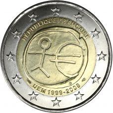 Ranska 2009 2 € EMU UNC