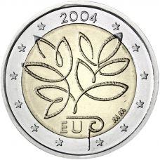 Suomi 2004 2 € EU Laajentuminen CIRC