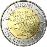 Suomi 2007 5 € Itsenäisyys 90 vuotta UNC