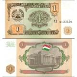 Tajikistan 1994 1 Ruble P1 UNC