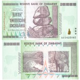 Zimbabwe 50 000 000 000 000 $ 50 Trillion Dollars P90 UNC
