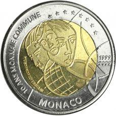 Monaco 2009 2 € EMU TESTI