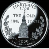 "USA 2000 $0,25 Maryland ""D"" UNC"