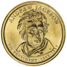 "USA 2008 $1 Presidentti Andrew Jackson ""D"" UNC"