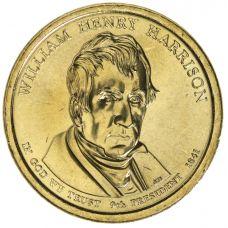"USA 2009 $1 Presidentti William Henry Harrison ""D"" UNC"