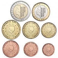 Alankomaat 2009 1 c – 2 € Irtokolikot UNC