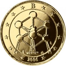 Belgia 2006 2 € Atomium KULLATTU