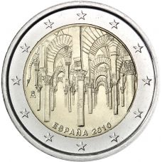 Espanja 2010 2 € Cathedral of Córdoba UNC