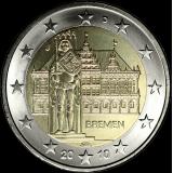 Saksa 2010 2 € Bremen J UNC