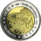 San Marino 2009 2 € EMU TESTI