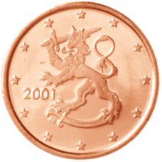 Suomi 2001 1 c UNC