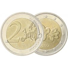 Suomi 2006/2007 2 € Virhelyönti