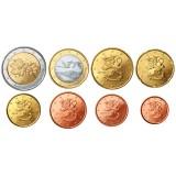 Suomi 2010 1 c – 2 € Irtokolikot UNC