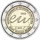 Belgia 2010 2 € Belgian EU-puheenjohtajakausi vuonna 2010 UNC