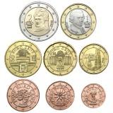 Itävalta 2002 1 c – 2 € Irtokolikot UNC