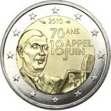 Ranska 2010 2 € 70 vuotta kesäkuun 18. päivän puheesta UNC