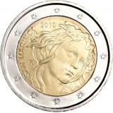 San Marino 2010 2 € Sandro Botticelli Irtokolikko UNC